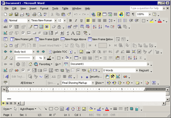 Too many features in a GUI